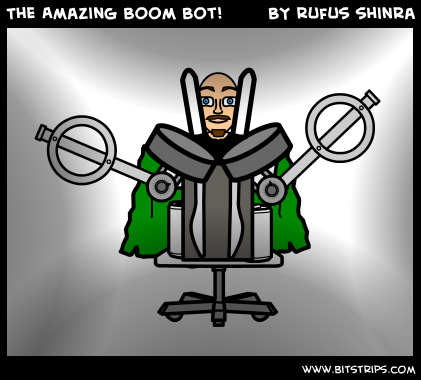 The Amazing Boom Bot!