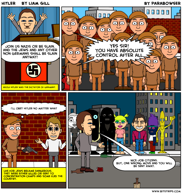 Hitler    by Liam Gill