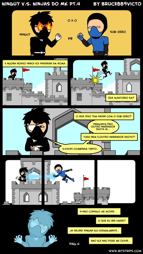 Ninguy V.S. Ninjas do MK Pt.4