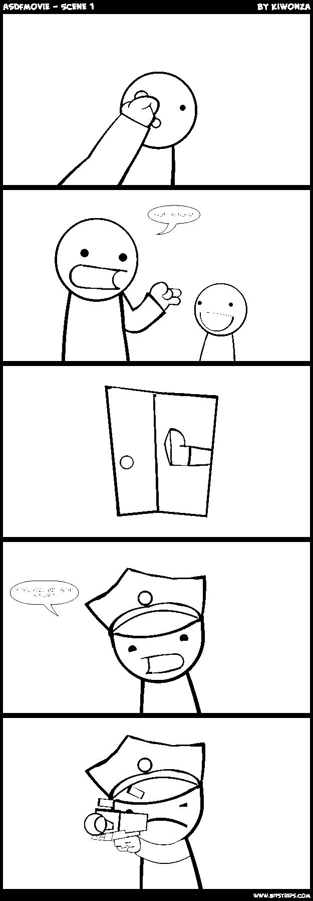 asdfmovie - Scene 1