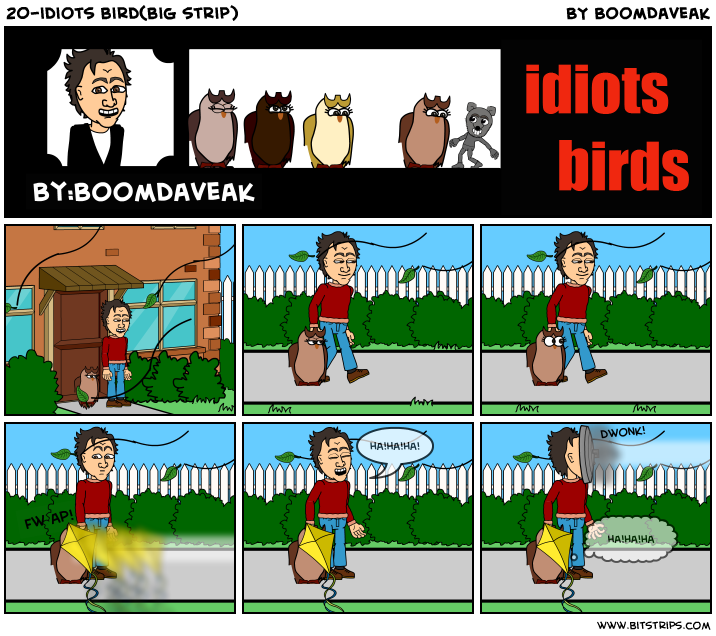 20-idiots bird(big strip)