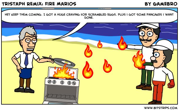 Tristaph Remix: Fire Marios