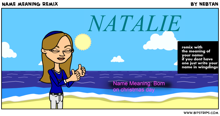 NAME NATALIE - FUN FACTS AND MEANING OF THE NAME - …