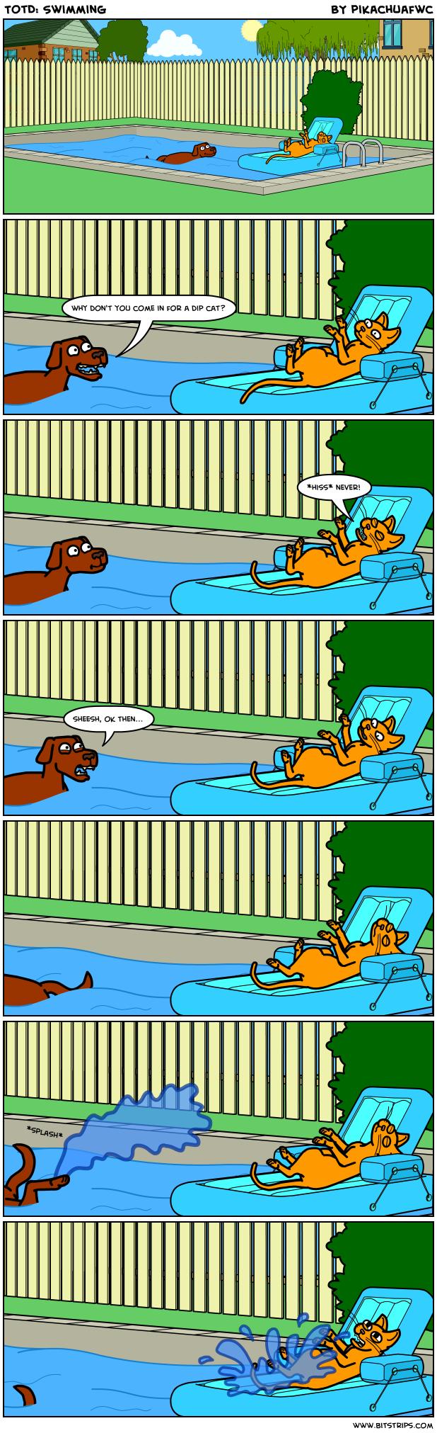 TotD: Swimming