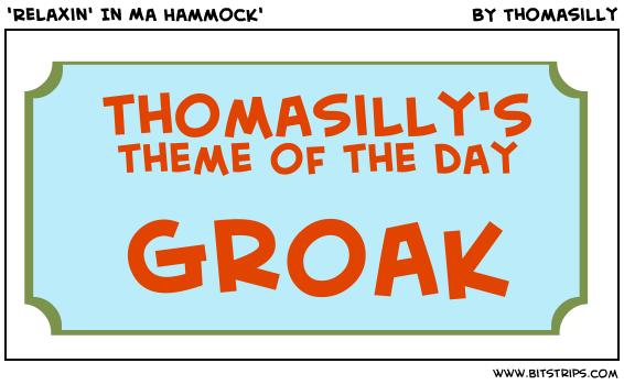'Relaxin' In Ma Hammock'