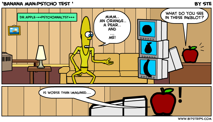 'Banana man:psycho test '