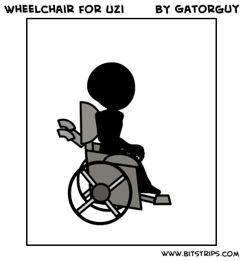 Wheelchair for Uzi