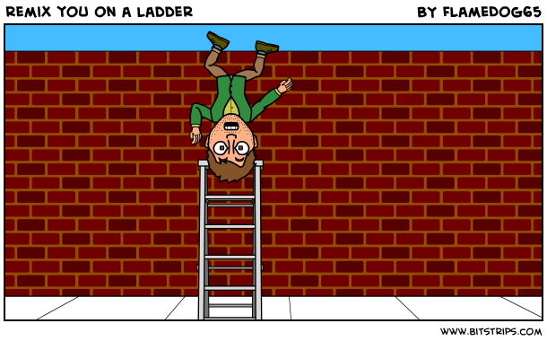 remix you on a ladder