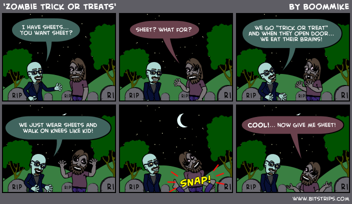 'Zombie Trick or Treats'