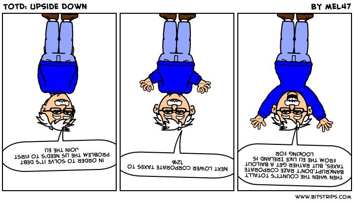TotD: Upside Down