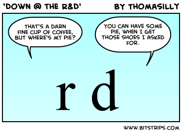 'Down @ the R&D'