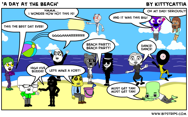 'A DAY AT THE BEACH'