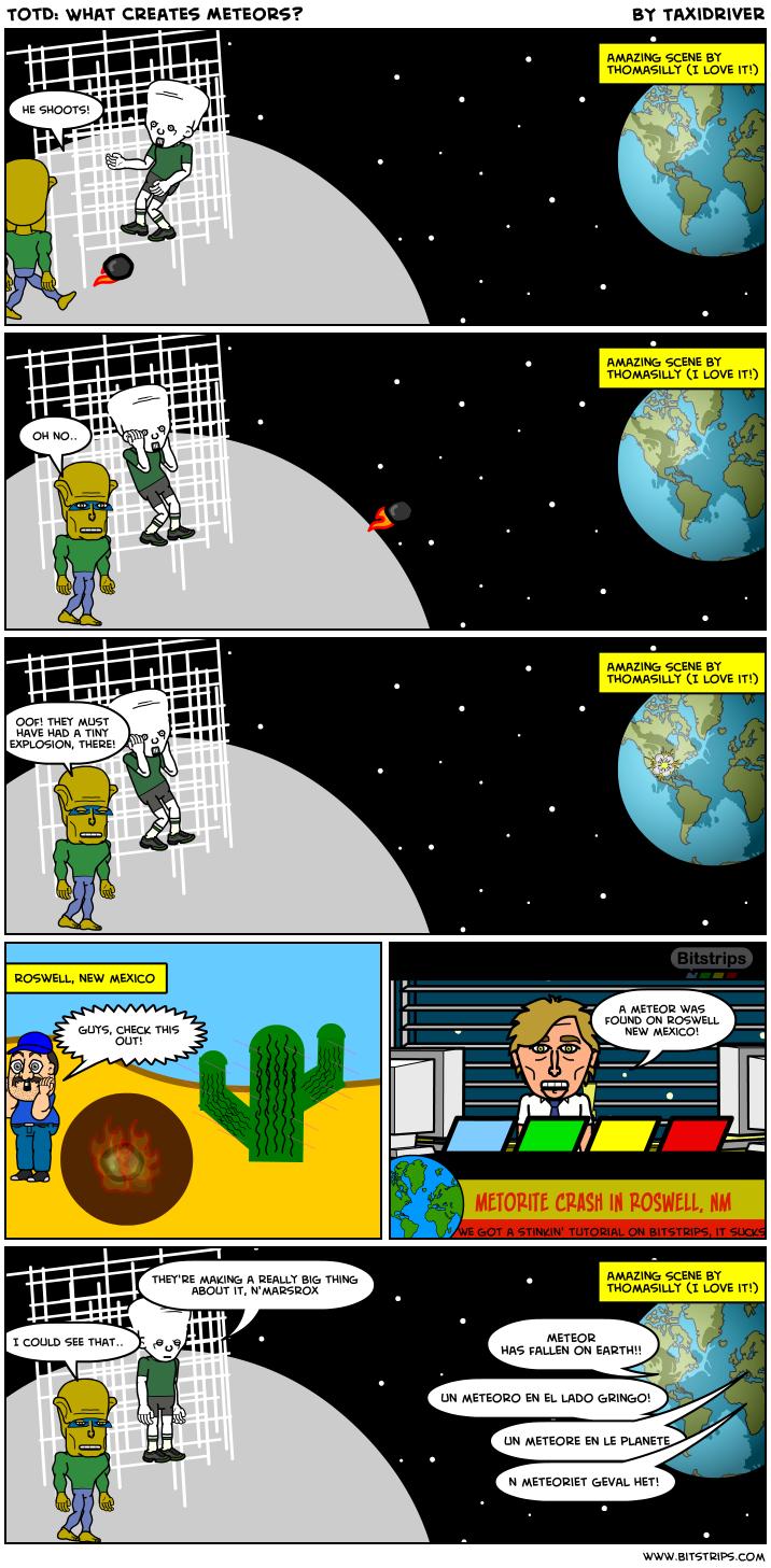 TotD: What Creates Meteors?
