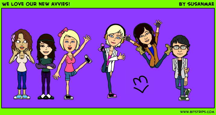 We love our new avvies!