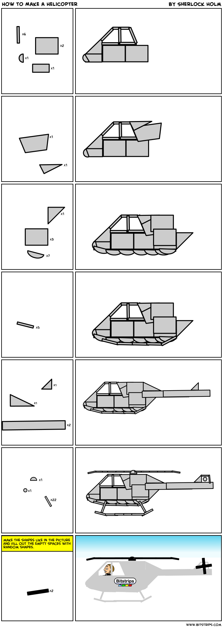 How to Make a Helicopter