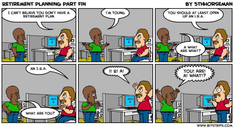 Retirement Planning Part Fin