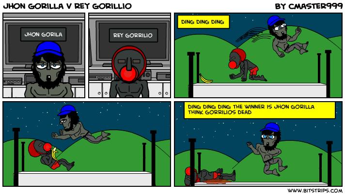 jhon gorilla v rey gorillio