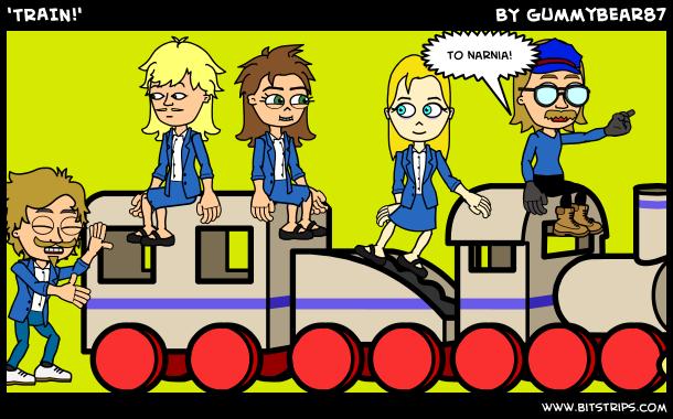 'TRAIN!'