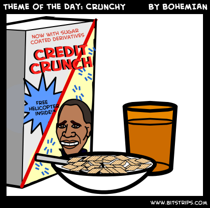 Theme of the Day: CRUNCHY