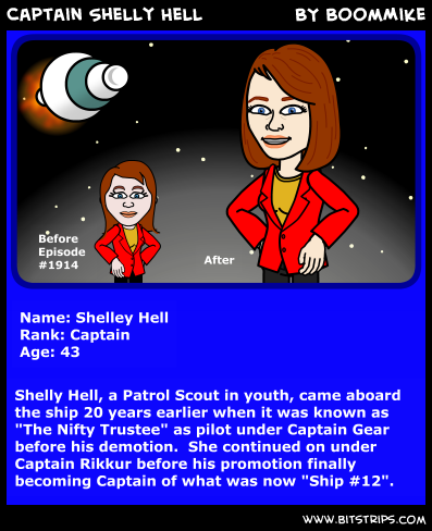 Captain Shelly Hell