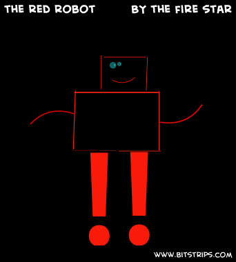 the red robot 
