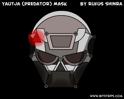 Yautja (Predator) Mask