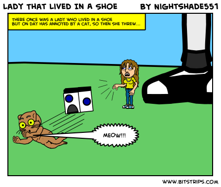 Lady That Lived In A Shoe