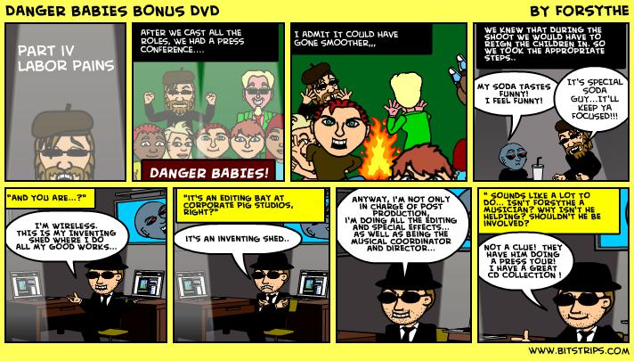 DANGER BABIES BONUS DVD