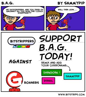 B.A.G.