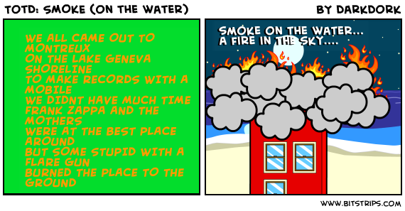 TotD: SMOKE (on the water)