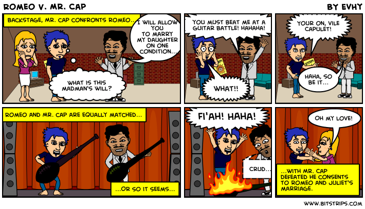 Romeo V. Mr. Cap