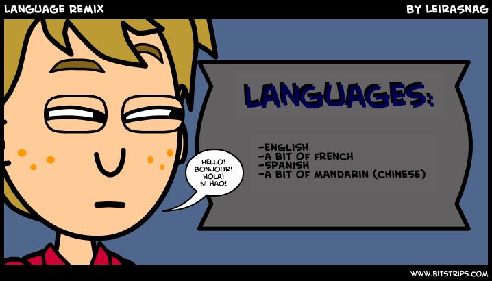 Language Remix