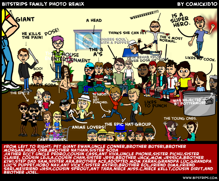 Bitstrips Family Photo Remix