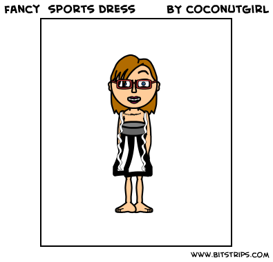 fancy  sports dress