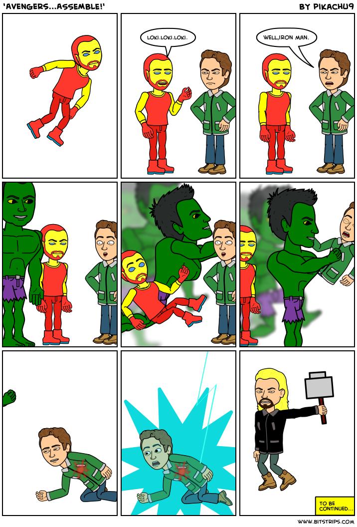 Avengersassemble Bitstrips