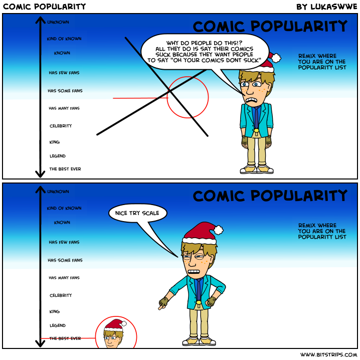 Comic popularity