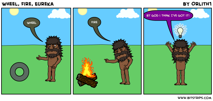 Wheel, Fire, Eureka