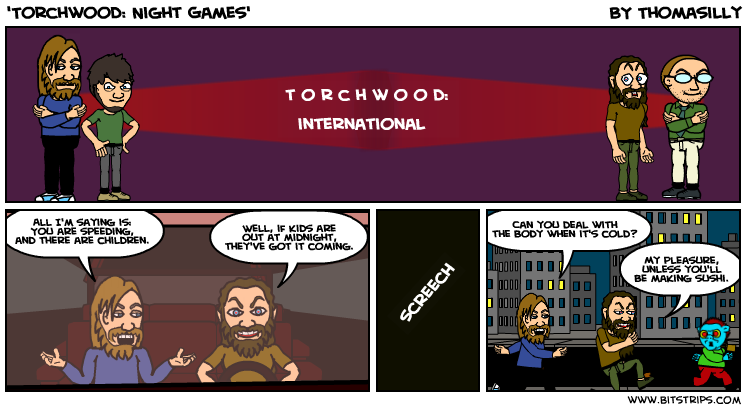 'Torchwood: Night Games'