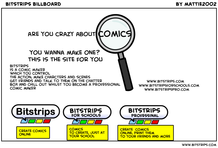 Bitstrips billboard
