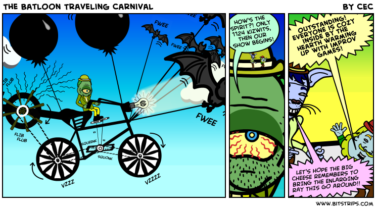 The Batloon Traveling Carnival