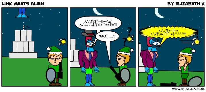 Link meets alien