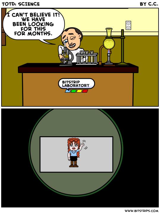 TotD: SCIENCE