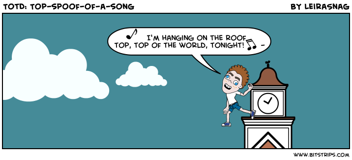TotD: Top-spoof-of-a-song