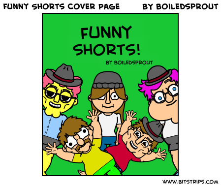 Funny Shorts Cover Page