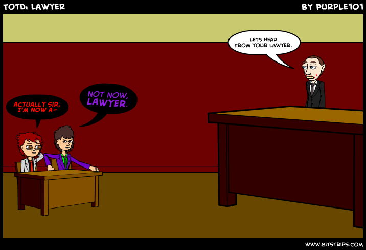 TotD: Lawyer