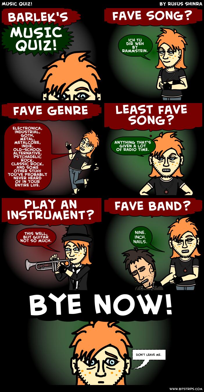 Music Quiz!