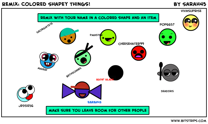 Remix: Colored Shapey Things!