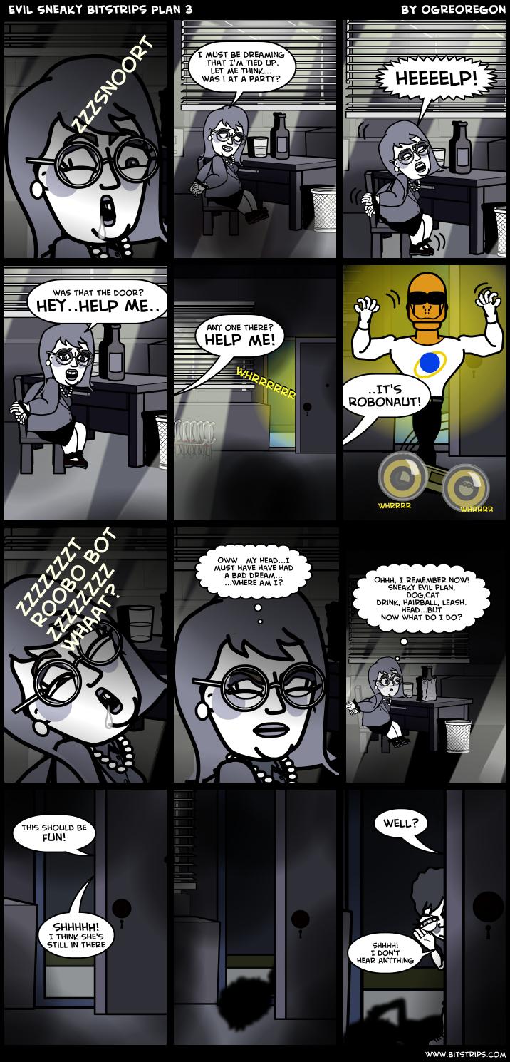 Evil Sneaky Bitstrips Plan 3