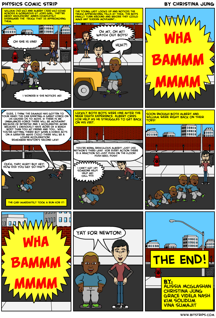 physics strip comic