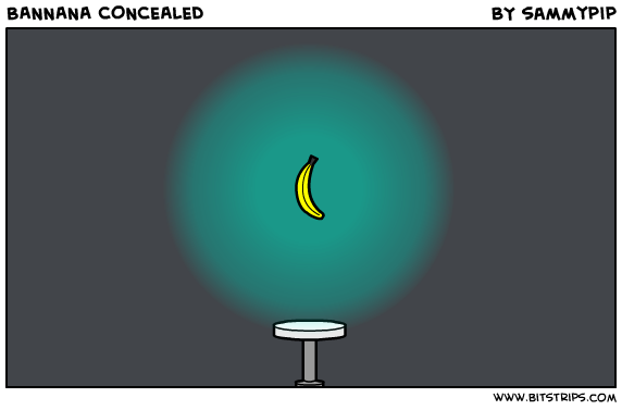 BANNANA CONCEALED